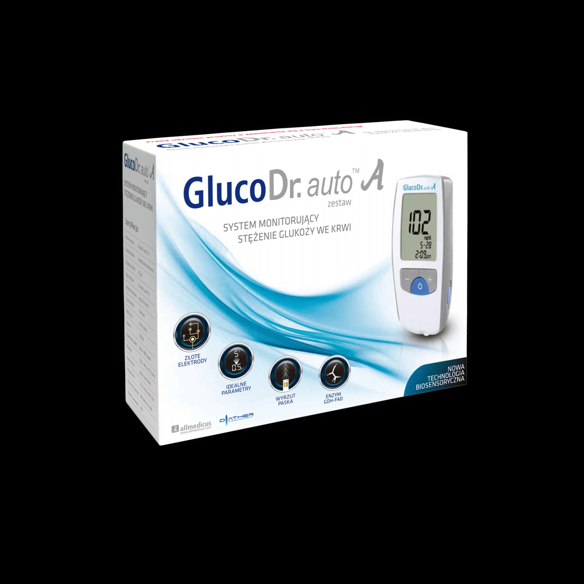 GlucoDr. auto A glukometr